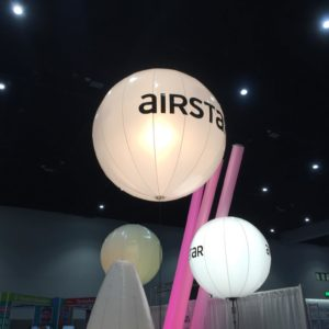 Event decor on display at the 2019 The Special Event Conference in San Diego.